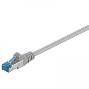 Kabel LAN Patch cord CAT 6A S/FTP szary 10m