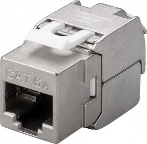 Gniazdo RJ45 Keystone Cat.6e STP shielded