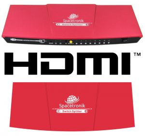 Matrix HDMI 2/8 Spacetronik SPH-M28HQ