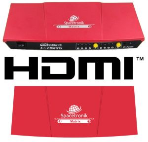 Matrix HDMI 4/2 Spacetronik SPH-M42HQ