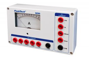 Amperomierz analogowy 10A AC/DC PeakTech 3295