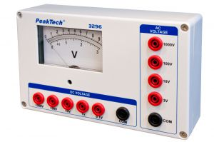 Woltomierz analogowy 1000V AC/DC PeakTech 3296
