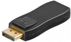 Adapter wt. DisplayPort - gn. HDMI blokada SPD-H02