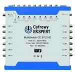 MultiSwitch Technisat Cyfrowy Ekspert CE 9/12 HD