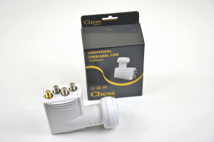 LNB Unicable Quad CHESS 5 Edition + TRIPLE Legacy