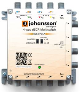 Multiswitch Unicable II Johansson 9754APL