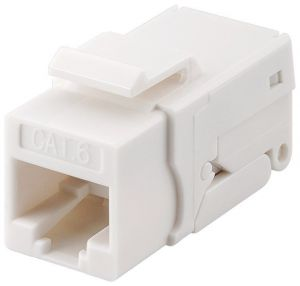 Złącze Keystone RJ45 CAT 6 UTP 250MHz Snap-In